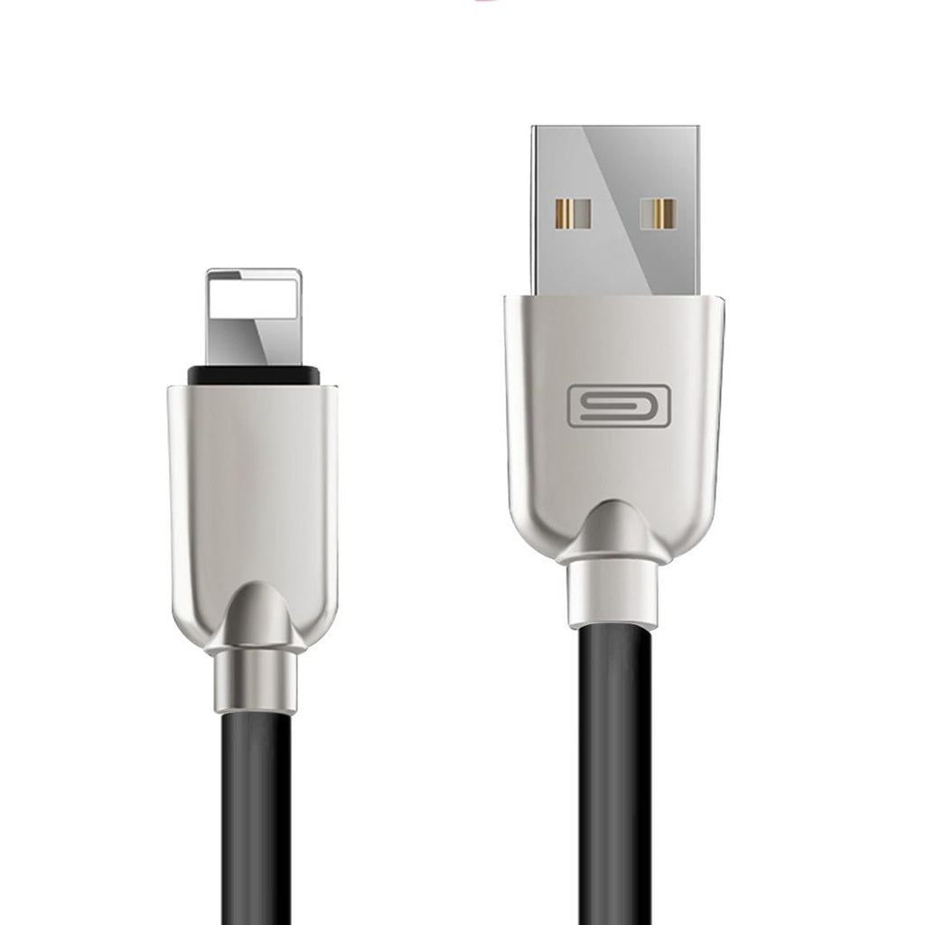 san francisco e80fd afb1d Apple 1.5M MFI Lightning Data Sync Charger Cable Cord Black for iPhone 7 7  Plus 6 5S 5C 6 iPad