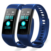 SOGA 2X Sport Smart Watch Health Fitness Wrist Band Bracelet Activity Tracker Blue