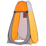 SOGA Pop Up Camping Shower Tent Orange