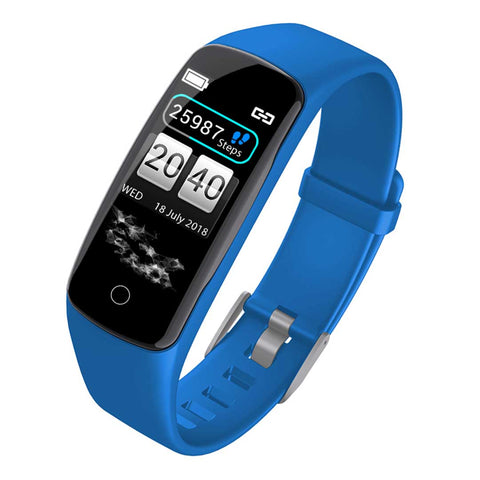 SOGA Sport Monitor Wrist Touch Fitness Tracker Smart Watch Blue