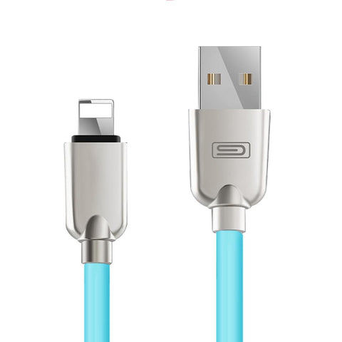 Zinc Alloy 1.5M Durable Sync Data USB Charger Cable iPhone 5 6 7 Plus iPad 4 Mini