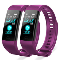 SOGA 2X Sport Smart Watch Health Fitness Wrist Band Bracelet Activity Tracker Purple