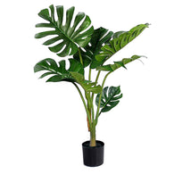 SOGA 120cm Artificial Green Indoor Turtle Back Fake Decoration Tree Flower Pot Plant