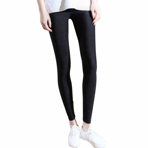 High Waist Slim Skinny Women Leggings Stretchy Pants Jeggings