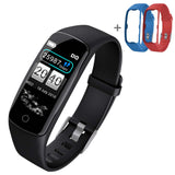 SOGA Sport Monitor Wrist Touch Tracker Smart Watch With 2X Strap Band Replacement