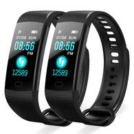 SOGA 2X Sport Smart Watch Health Fitness Wrist Band Bracelet Activity Tracker Black