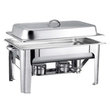 SOGA Stainless Steel Chafing 9L Catering Dish Food Warmer