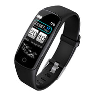 Fitness Watch - SOGA Sport Monitor Wrist Touch Fitness Tracker Smart Watch Black