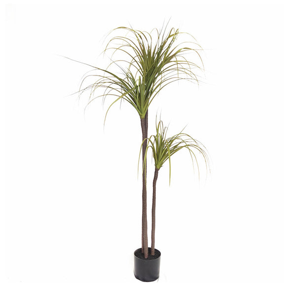 SOGA 145cm Green Artificial Indoor Dragon Blood Tree Fake Plant Decorative