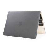 Matte Hardshell Case + Keyboard cover for Apple Macbook Grey