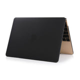 Crystal Hardshell Case + Keyboard cover for Apple Macbook Black