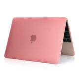 Matte Hardshell Case + Keyboard cover for Apple Macbook Pink