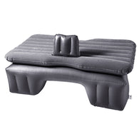Inflatable Car Mattress Portable Travel Camping Air Bed Rest Sleeping Bed Grey