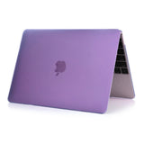 Matte Hardshell Case + Keyboard cover for Apple Macbook Purple