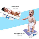 SOGA 100kg Digital Baby Scales Electronic LCD Display Paediatric Infant Weight Monitor