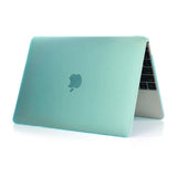 Crystal Hardshell Case + Keyboard cover for Apple Macbook Green