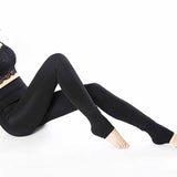 Warm Winter Thick High Waist Shinny Slim Skinny Women Leggings Stretchy Pants