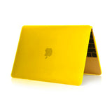 Matte Hardshell Case + Keyboard cover for Apple Macbook Yellow