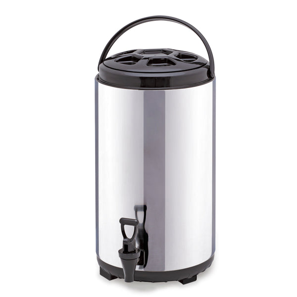 SOGA 10L Portable Insulated Cold/Heat Coffee Tea Beer Barrel Brew Pot With Dispenser