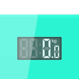 SOGA 2x Green 180kg Digital Fitness Weight Bathroom Gym Body Glass LCD Electronic Scales