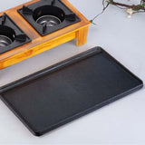 SOGA 2X Double Burner Cast Iron Flat and Ridged Griddle Stove Top Grill BBQ Plate