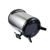 SOGA 2 x 10L Portable Insulated Cold/Heat Coffee Tea Beer Barrel Brew Pot With Dispenser