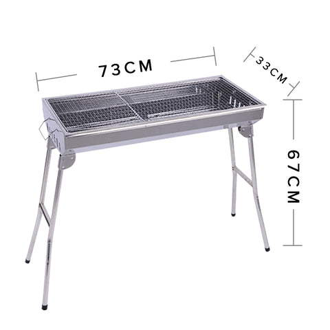 Soga skewers grill portable stainless steel charcoal bbq - Portable dishwasher stainless steel exterior ...
