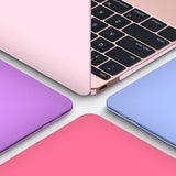 Crystal Hardshell Case + Keyboard cover for Apple Macbook Purple