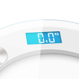 SOGA 180kg Digital Fitness Weight Bathroom Gym Body Glass LCD Electronic Scales White