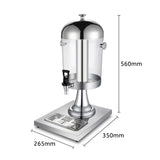 SOGA Single 8L Juicer Water Milk Coffee Pump Beverage Drinking Utensils