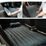 SOGA Inflatable Car Mattress Portable Travel Camping Air Bed Rest Sleeping Bed Black