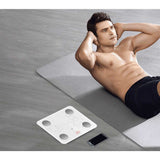 SOGA 2x 180KG Bluetooth Digital Personal Bathroom Weight Scales Body Fat Bone White