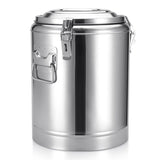 SOGA 22L Stainless Steel Insulated Stock Pot Dispenser Hot & Cold Beverage Container