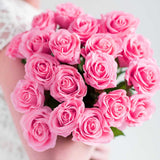 SOGA 10pcs Artificial Silk Flower Fake Rose Bouquet Table Decor Pink