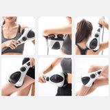SOGA 2X Deluxe Handheld Percussion Soothing Body Massager