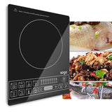SOGA 2X Cooktop Electric Smart Induction Cook Top Portable Kitchen Cooker Cookware