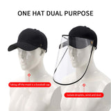 Outdoor Protection Hat Online Australia | Anti-Fog Pollution Dust Saliva Protective Cap | Full Face HD Shield Cover