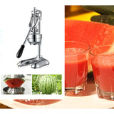 Stainless Steel Manual Juicer Hand Press Juice Extractor Squeezer Orange Citrus