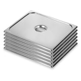 SOGA 6X Gastronorm GN Pan Lid Full Size 1/1 Stainless Steel Tray Top Cover