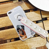 Luxury Fashionable Durable Silver Mirror Back iPhone Case 6/6s,6/6s Plus,7,7Plus