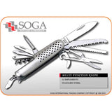 SOGA Multi Function Army Knife Tool Swiss Style 102