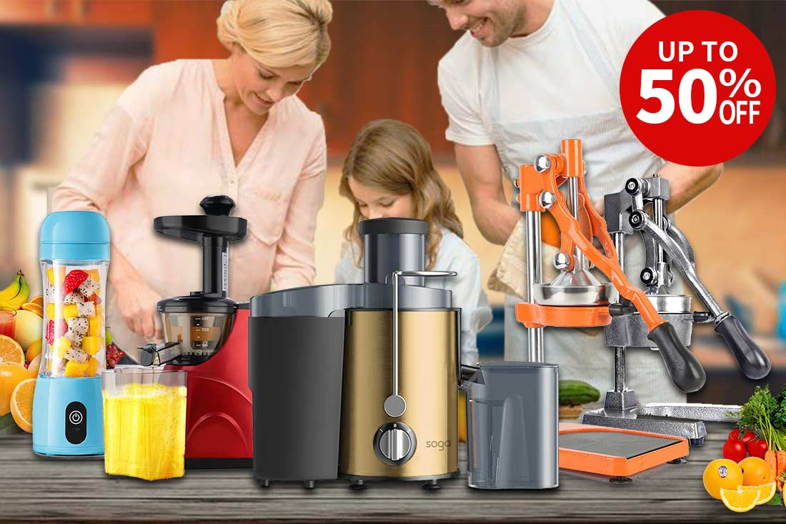 Slow Juicers and Juice Makers