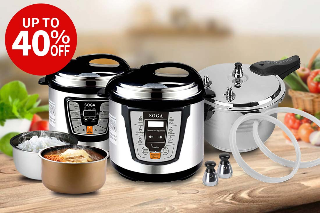 Pressure Cookers and Rice Cookers