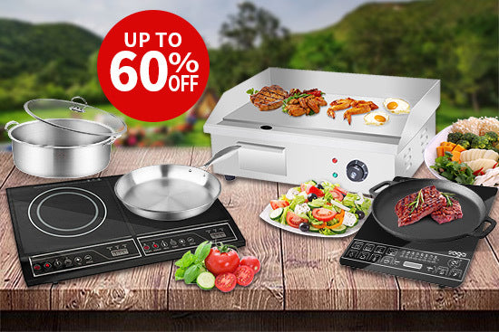 Electric Griddles and Cooktops