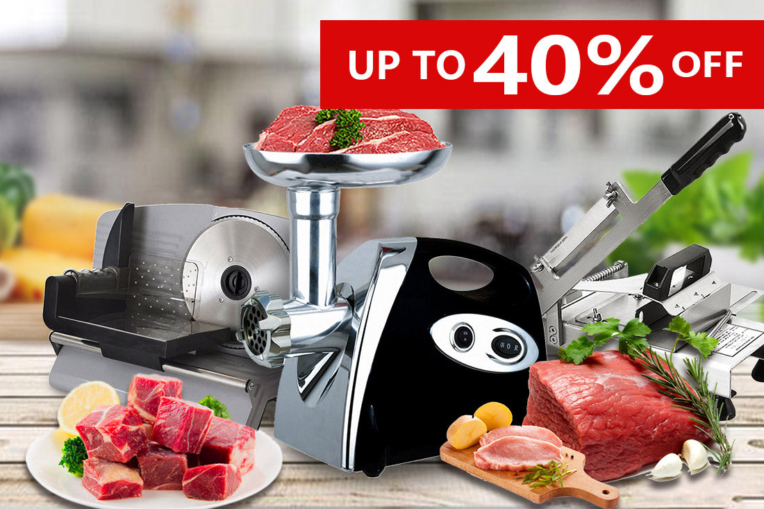 Electric Meat Slicers & Grinders
