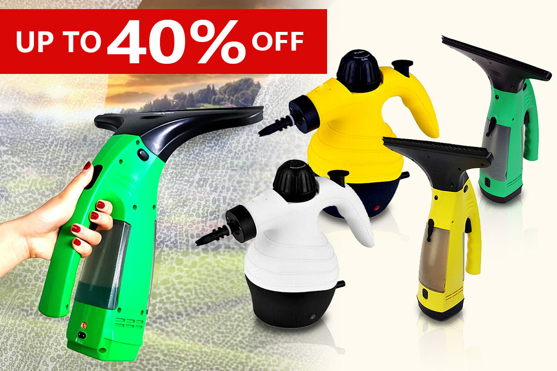 Handheld Steam Cleaners & Vacuum Cleaners