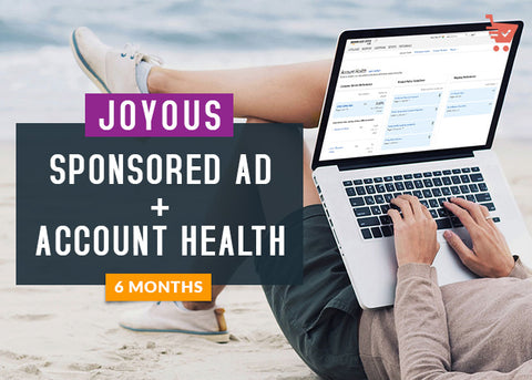 Joyous-Sponsored Ad+Account Health (6 Months)