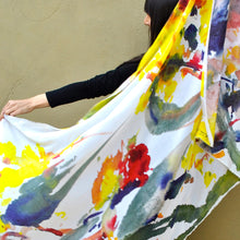 Load image into Gallery viewer, WILD SILK Eucalyptus erythrocorys: Illyarrie Scarf