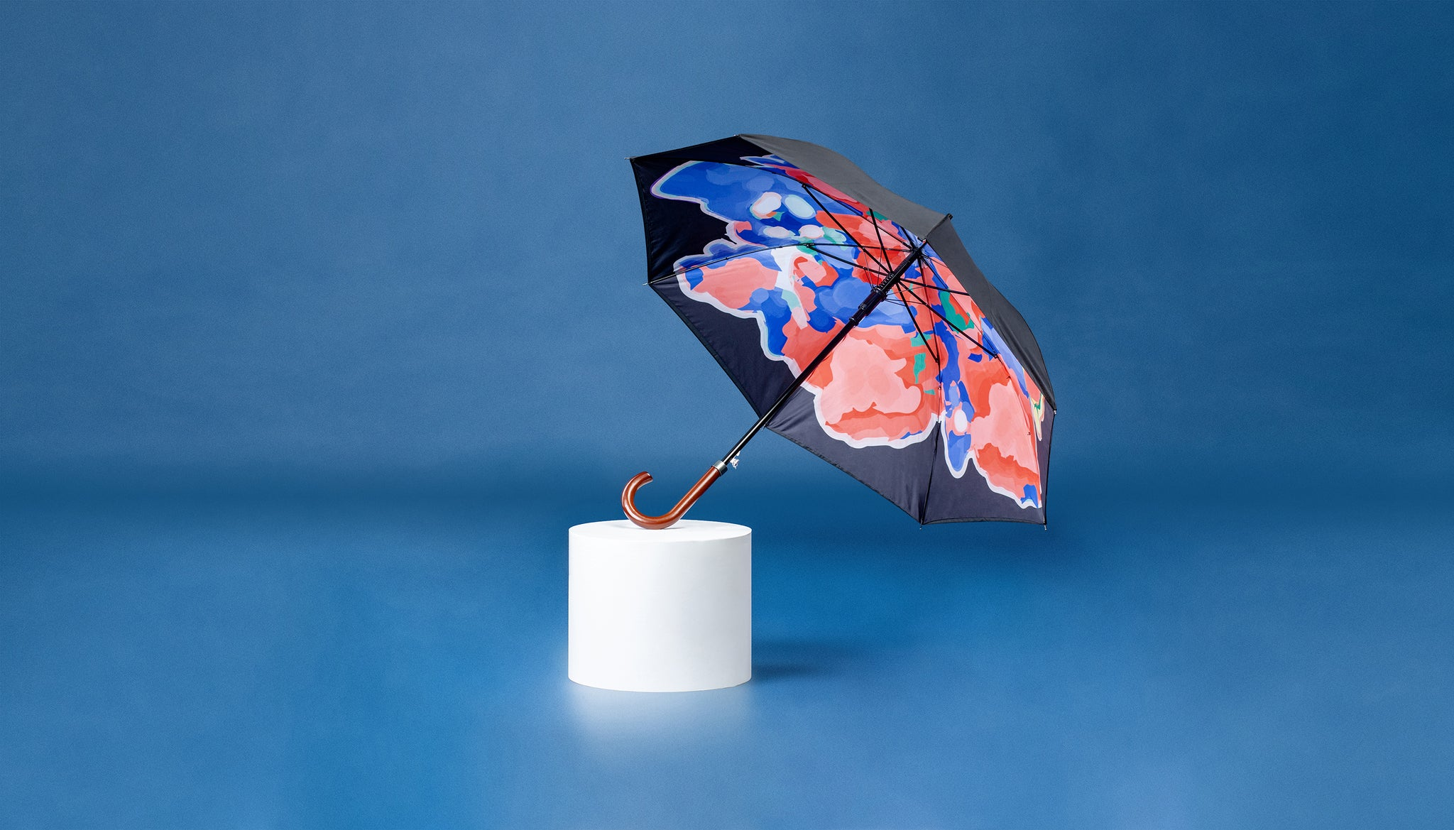 Premium Art Umbrella from Sweden / Design paraply från Stockholm / online product available / free delivery / Wonderful Cloud - Straight Art Umbrella - zontjkdesign