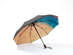 GOLDEN TREE -  Compact Umbrella, Gift Box Included - zontjkdesign